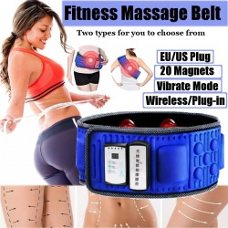 Wireless electric slimming belt - fitness - massage - vibration - belly / body trainer