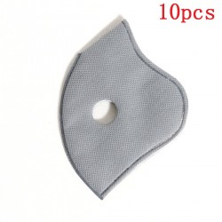 10 Pieces - PM25 activated carbon face/mouth mask replacement filters