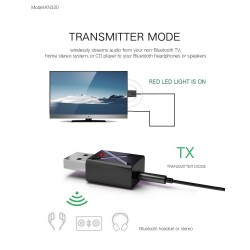 Bluetooth 5.0 - 2 in 1 - bluetooth adapter - transmitter - receiver