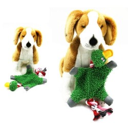 32 * 19cm - plush duck - toy with rope for dogs / cats