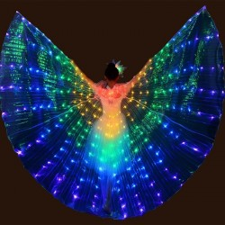 LED butterfly wings - show dance / costume party / masquerade / halloween