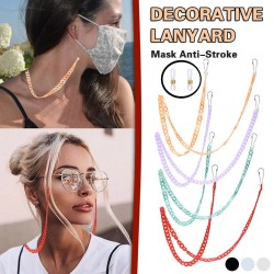 Multifunction cotton chain - holder for glasses / face masks - decorative lanyard