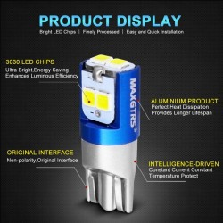 W5W - 3030 - SMD - T10 - LED - car Canbus bulb - 2 pieces