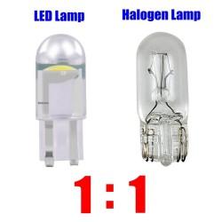 T10 - W5W WY5W 168 501 2825 COB - LED light - car bulb - 10 pieces