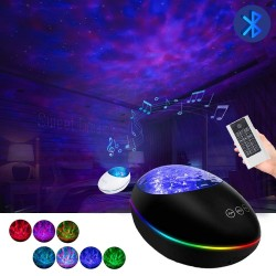 LED galaxy projector - night light