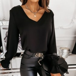 Long sleeve blouse -...
