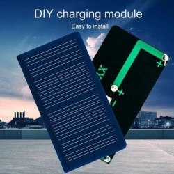 Mini poly solar panel - battery charger - 5.5V - 50MA - 68 * 38mm