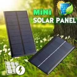 Solar panel - battery charger - 0.3W / 0.8W / 1W / 1.2W / 1.5W / 2W / 4W / 5W