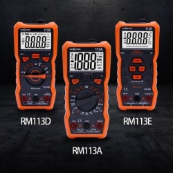 Digital multimeter - 6000 counts - with backlight