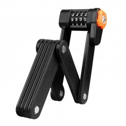 Bicycle foldable lock -...