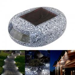Pebble stone - solar lights...