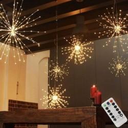 LED firework light / string...