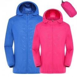 UV protection quick dry waterproof jacket unisex