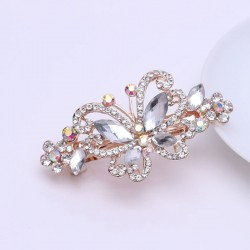Crystal butterfly - elegant hair clip