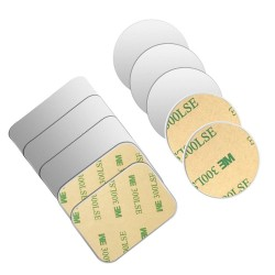 Metal plate - sticker - magnetic phone holder - 3M adhesive