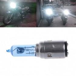 Motorcycle light bulb - white halogen Xenon - DC 12V - 35W - BA20D