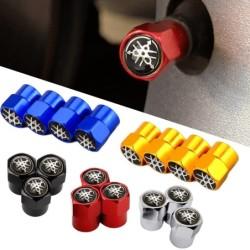Car tire valves - Logo XJ6 - 4 pieces