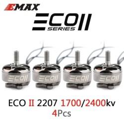 Upgraded Emax ECO II Series - 1700KV / 2400KV - 3-6S - brushless motor - 4mm bearing shaft - for RC Drone Quadcopter FPV