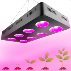Plant grow light - hydroponic - full spectrum - COB - LED - 500W - 1000W - 1500W - 2000W