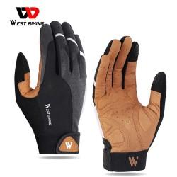 Sport gloves - touch screen function - reflective - half / full fingers design - unisex
