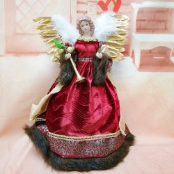 Smiling angel - standing doll - Christmas decoration