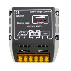 12V/24V Solar Panel Charge Controller Battery Regulator Safe Protection