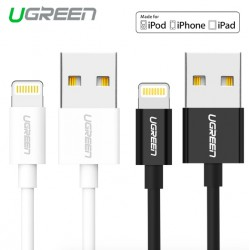 Original 8-pin Lightning to USB UGreen cable - MFi - 50cm - 1m - 1.5m - 2m