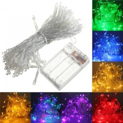 4M 40 LED - battery operated LED string Xmas lights