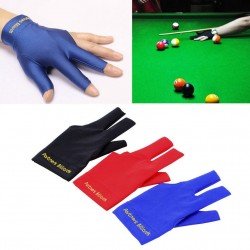 Snooker Billiard Cue Pool Open Three Finger Left Hand Glove