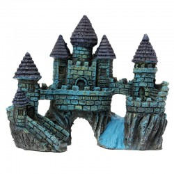 Fish Tank Aquarium Resin Castle Tower