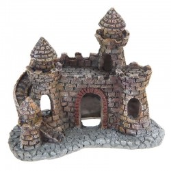 Aquarium Fish Tank Mini Resin Castle Tower