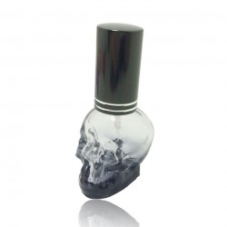 3D Skull Design Mini Bottle Perfume Atomizer 8ml