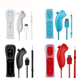Wii 2 in 1 Wireless Controller & Nunchuck