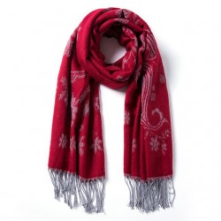 VIANOSI Tassels Warm Winter Scarf