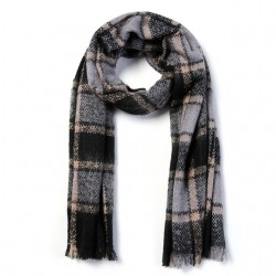 Luxury Cotton Plaid Bandana Scarf