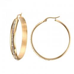 Big Hoop Gold Earrings