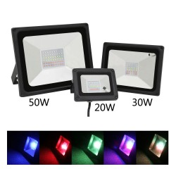 20W 30W 50W RGB LED lamp flood light IP65 waterproof
