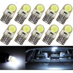 T10 W5W LED COB car light lamp bulb10 pcs