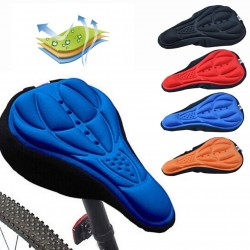 3D silicone bike seat cover cushion