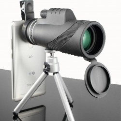 40 x 60 HD monocular powerful binocular - telescope with night vision