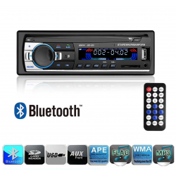 Bluetooth car audio radio - MP3 - FM - USB - Aux - 12V