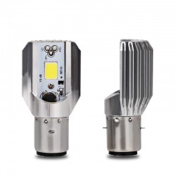Motorcycle LED headlight bulb light H6 BA20D 6000K