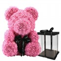 Infinity rose flower teddy bear 40 cm