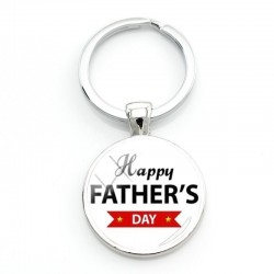 Happy Fathers Day - keychain