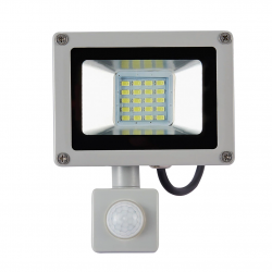 10W 20W reflector - LED floodlight with PIR motion sensor