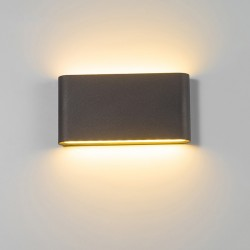 Modern 6W - 12W LED indoor - outdoor wall lamp waterproof IP65