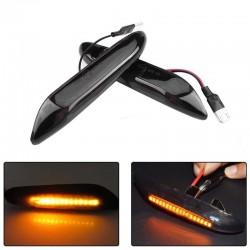 Smoke 16 LED - side marker light - turn signal indicators for BMW E90 E91 E92 E39 E60 E46 E83 E53 E36 - 2 pcs