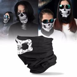 Skull printed face mask - balaclava