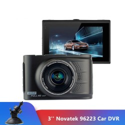 Podofo Novatek 96223 car DVR - 3.0 inch WDR full HD 1080P camera- video recorder registrator - 170 degree dashcam