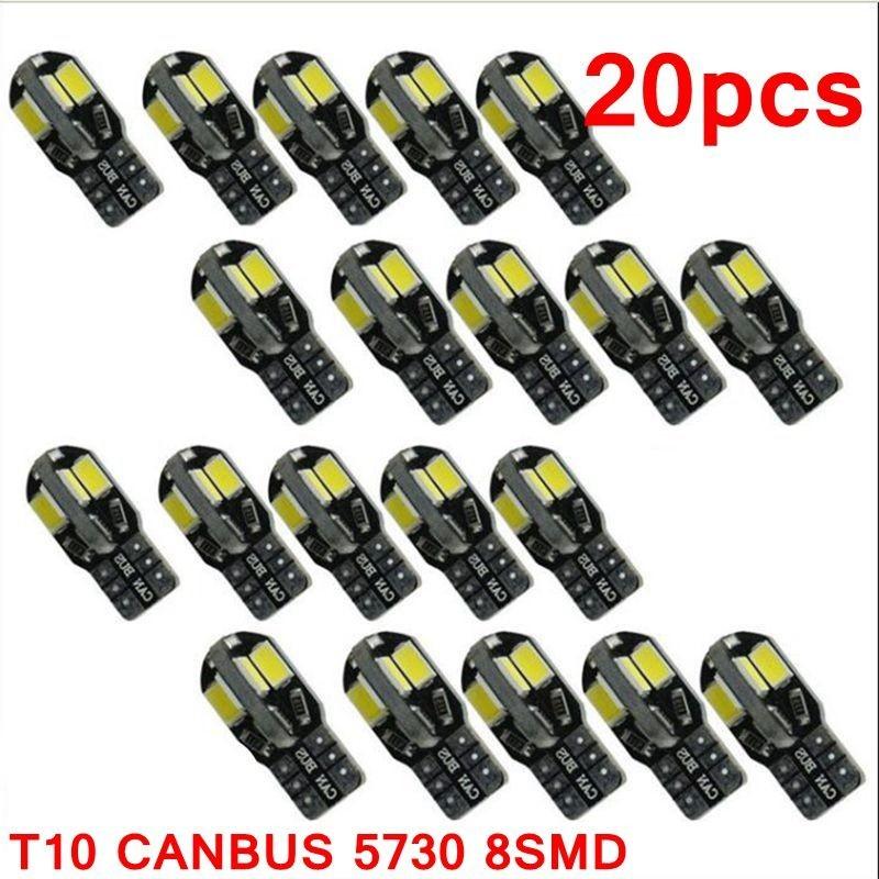 T10 12V Canbus LED car interior bulb - 20 pieces